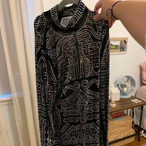 Dolls Kill jewel studded dress worn once